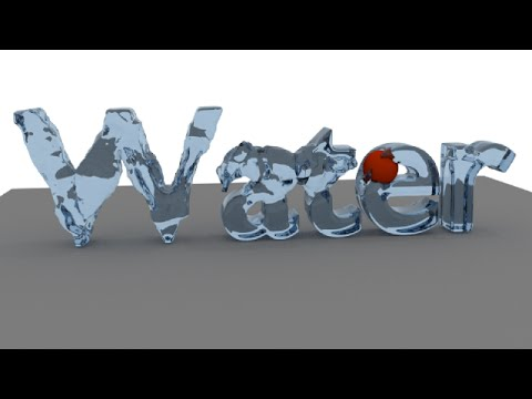 Blender Tutorial: Liquid Text Animation