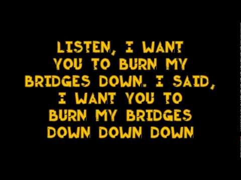 OneRepublic - Burning Bridges (Lyric Video)