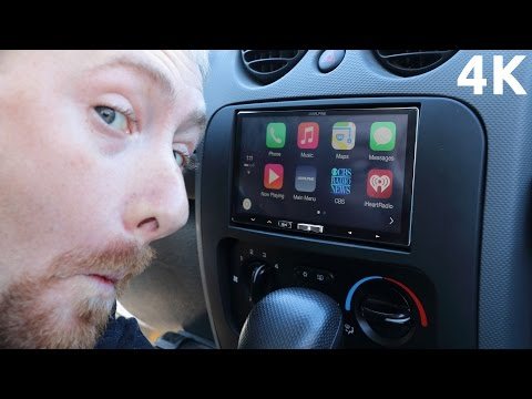Apple CarPlay on Alpine iLX-007 Quick Overview