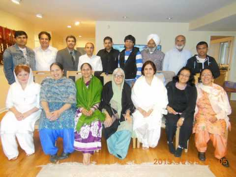 Punjabi Sahit Sabha New York Meeting October 19, 2013 video