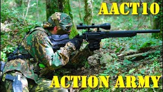 Airsoft - Action Army AAC-T10 sniper rifle [ENG sub]