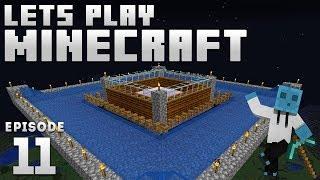 iJevin Plays Minecraft - Ep. 11: IRON GOLEM FARM! (1.14 Minecraft Let's Play)