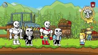 Scribblenauts Unlimited 146 Undertale Sans & Papyrus in Object Editor