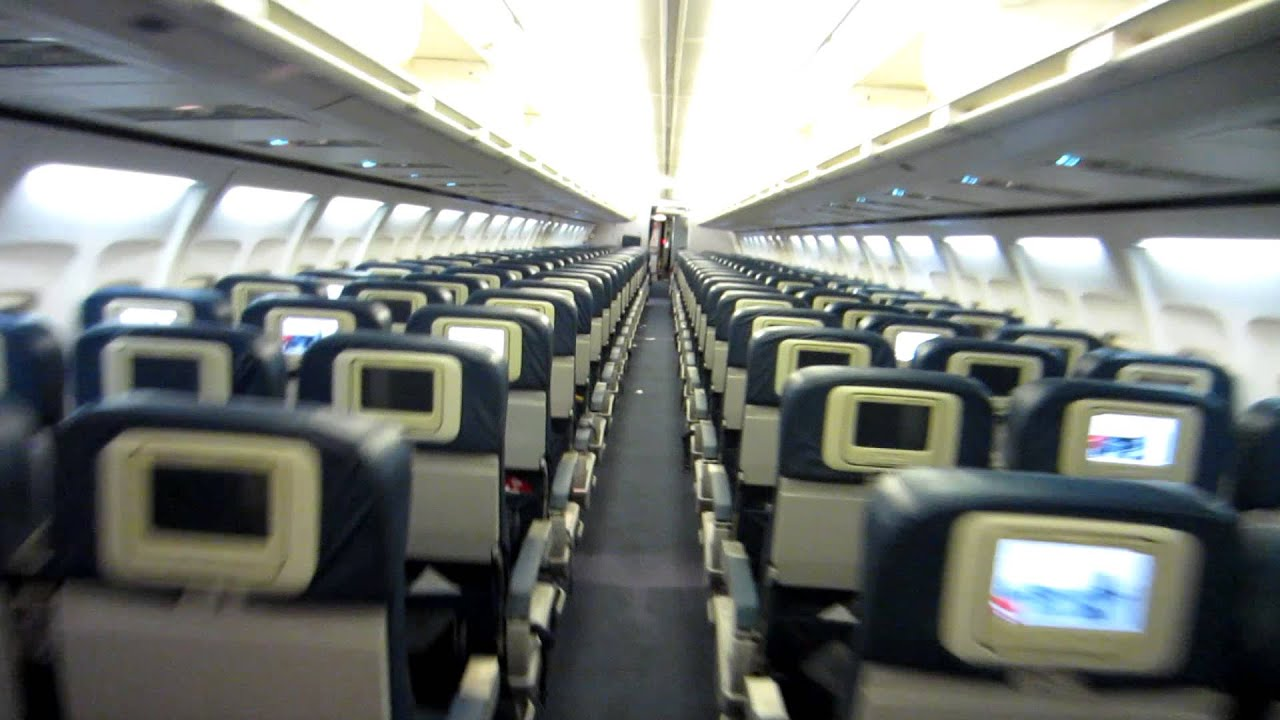 delta 757 200 cabin tour youtube
