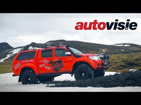 Per arctic truck door IJsland - by Autovisie TV