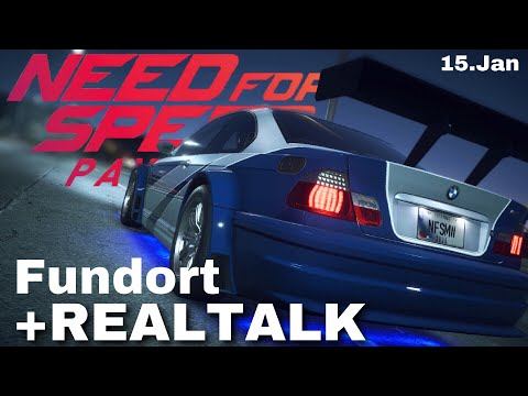 Fundort Stillgelegtes Auto: Most Wanted BMW M3 | 15. Jan - Need for Speed Payback