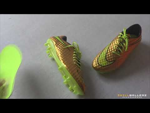 2014 Exclusive Neymar Boots: Nike HYPERVENOM Gold Edition - Unboxing
