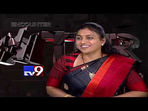Roja in Encounter with Murali Krishna - TV9