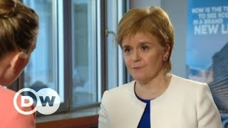 Nicola Sturgeon: UK lacks realism in Brexit negotiations | DW English