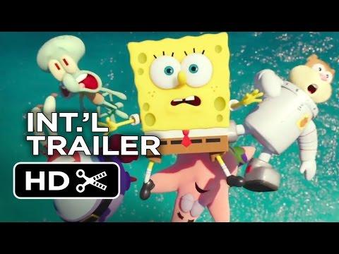 The Spongebob Movie: Sponge Out Of Water International Trailer 1 (2015) - Animated Movie Hd video