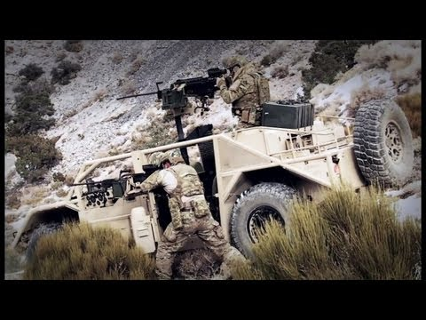 General Dynamics Ordnance & Tactical Systems - Flyer Advanced Light Strike Vehicle (ALSV) [720p]