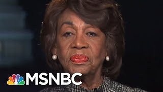 "Maxine Waters Reacts To President Donald Trump Calling Her ""Low-IQ"" 