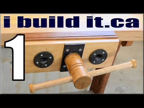 Making A Woodworking Vise, Part 1 Of 11
