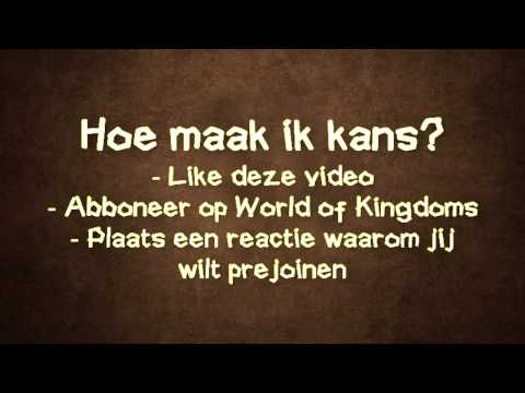 WIN EEN PREJOIN! - World of Kingdoms - NL - Minecraft - 24/7 - No whitelist
