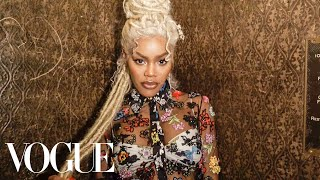 Teyana Taylor's Epic Versace Getting-Ready Ritual | Vogue