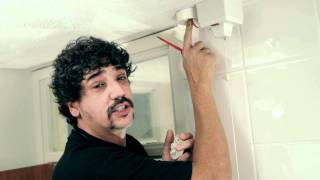 How to change a pull switch in a bathroom