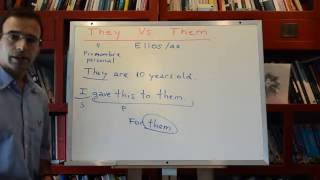 Curso ingles 286: They Them (cómo se usan)