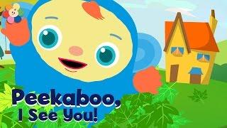 Peekaboo, I See You   Children's Shows Compilation   Playing Peekaboo Cartoons for Kids   BabyFirst