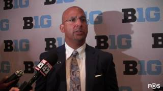 James Franklin On PSU Heading Into Camp