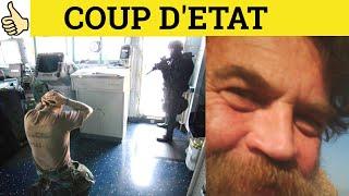 Coup D'etat - French in English - ESL British English Pronunciation