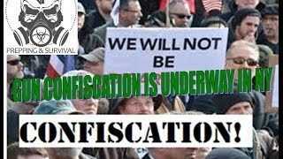 Breaking News - Gun Confiscation Has Begun In NY!!!  Must Watch!!
