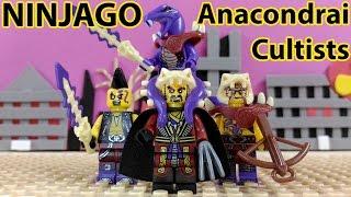 Lego - Ninjago - Snake Army (Anacondrai Cultists) - Minifigures by ShengYuan SY