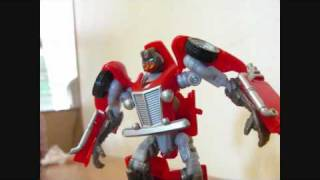 Transformers Hunt for the Decepticons Hubcap Stop Motion