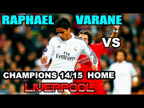 Raphael Varane vs F.C Liverpool AWAY UCL 2014/2015 ( 04/11/2014 - 04.11.2014 ) [HD]