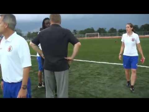 Federation Haitienne De FootBall FHF Peterson Jerome (Macth Haiti vs Cuba 1 - 0)