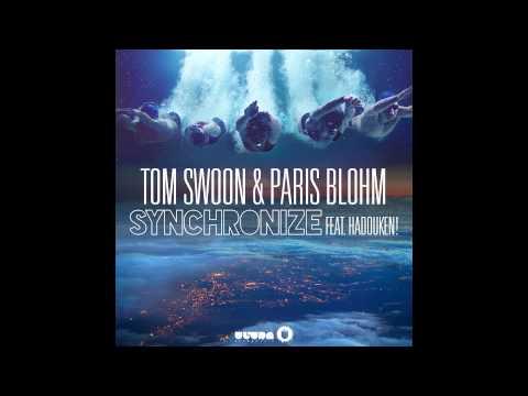 Tom Swoon & Paris Blohm feat. Hadouken! - Synchronize (Cover Art) [Radio Edit]