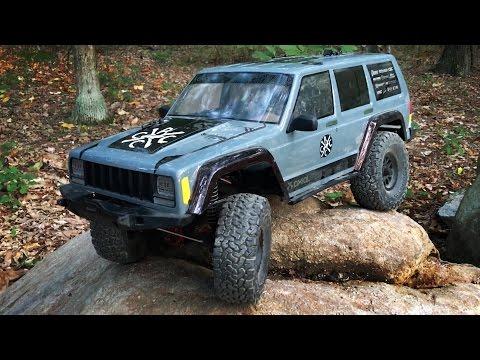 Axial SCX10 II RTR Jeep Cherokee First Run & Impression