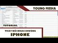 Hướng dẫn thay đổi nhạc chuông và nhạc sms cho Iphone