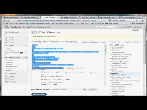 0 How to Edit PHP, CSS, and HTML in Wordpress