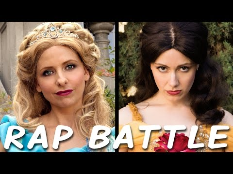 CINDERELLA vs BELLE: Princess Rap Battle (Sarah Michelle Gellar & Whitney Avalon)