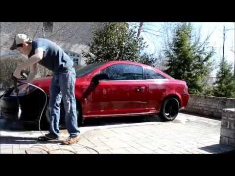 Using Meguiars Gold Class With MTM Foam Cannon
