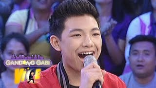 Video clip GGV: Darren sings his mashup songs on GGV
