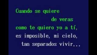Quiereme Mucho , Gonzalo Roig. - Karaoke - 123video.flv