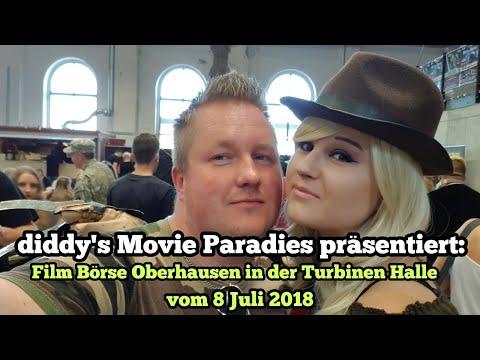 Besuch der Film Börse Oberhausen in der Turbinen Halle vom 08 Juli 2018
