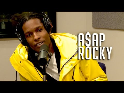 A$AP Rocky Shares First Weed Experience w/ Funk Flex!