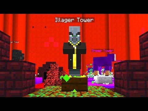 Das HÖLLEN Tower Defense Level! - Minecraft Tower Defense Map