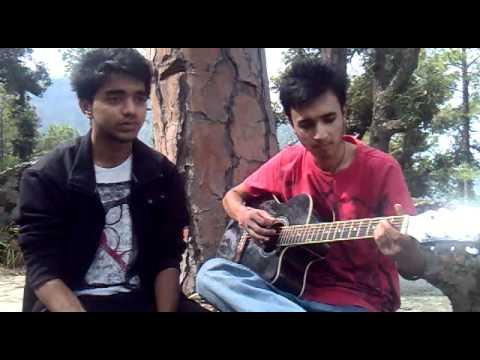 kash ye pal tham jaye- jal guitar cover by ankush n ashutosh