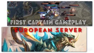 EUROPEAN SERVERS FIRST TIME PLAYING CAPTAIN PHINN GAMEPLAY AND TIPS  - VAINGLORY 5V5 EU RANK