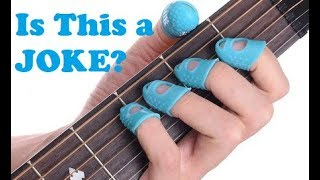 Finger Condoms For Wussy Guitarists
