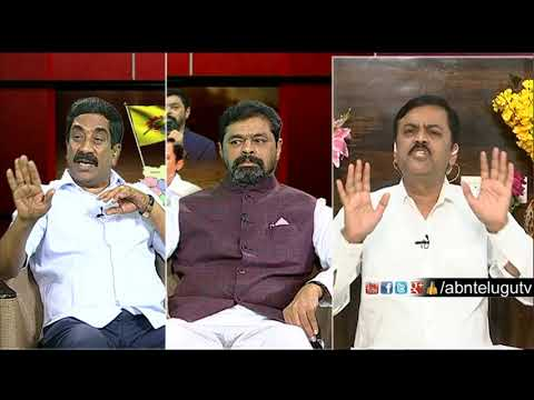 ABN MD Radhakrishna About PD accounts Issue | Big Debate | RK Punch Dialogues | ABN Telugu