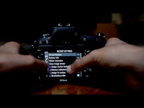 Nikon D7100 Tutorial. How to Tutorial Menu Set Up Guide Part 2