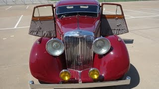 1947 Jaguar Mark IV 3 1/2 litre Saloon