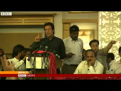 BBC News   Pakistan braced for Imran Khan anti government marches