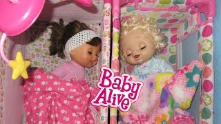 BABY ALIVE Pumpkin And Emily Wake Up To A DISASTER!