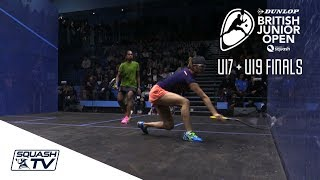 Squash: Christmas Cracker - Ashour v Abouelghar - British Open 2017 - Full Match