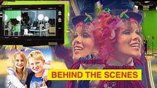 P!NK ~ Music video ~ Behind the scenes - 360 Green screen